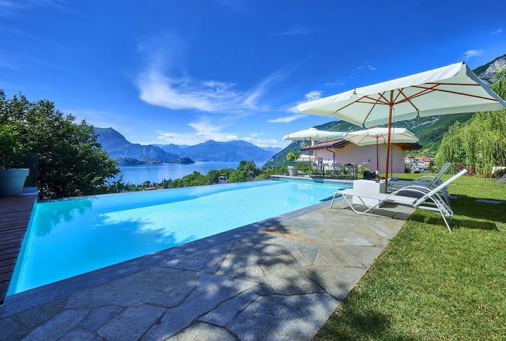 NATURE &  INFINITY POOL, VILLA MARIA LAURA