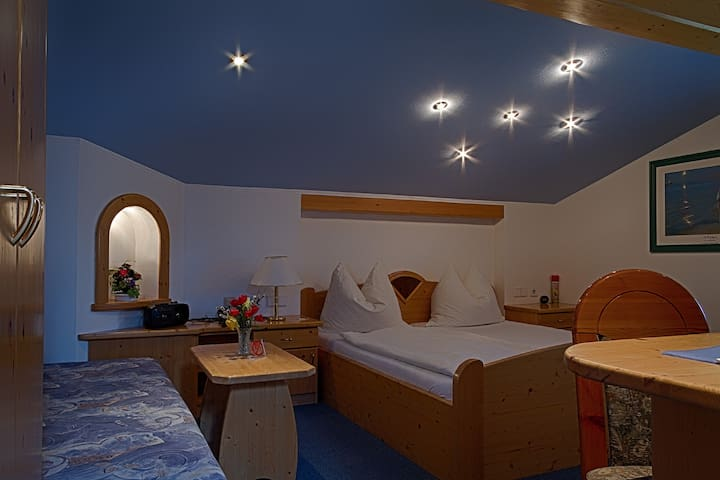Romantikzimmer mit Sternenhimmel
