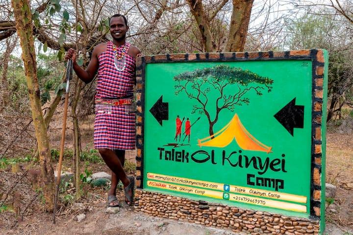 Camp is a tented camp & campsite in Masai Mara