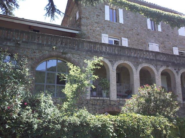 Chambre de Charme dans Mas XVII proche Ardèche (A) - Saint-Jean-de-Valériscle