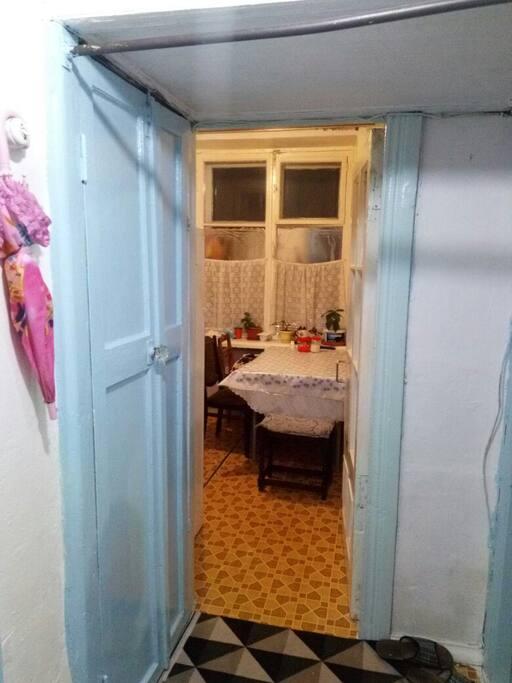 коридор и кухня