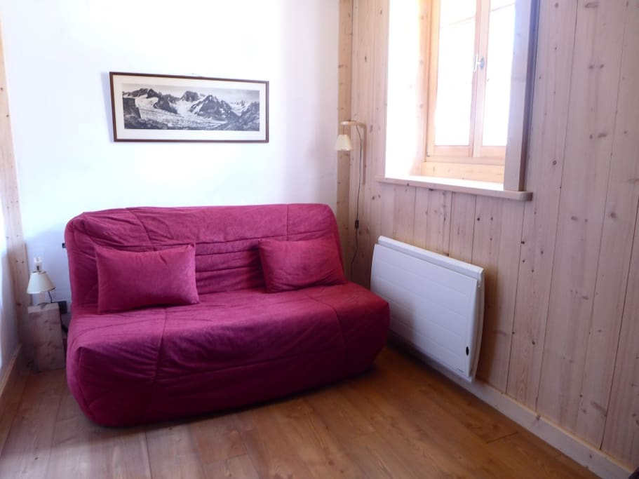 Canapé lit du salon/salle à manger