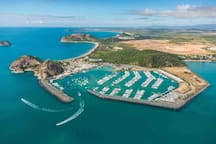 Roslyn Bay boat harbour......catch the ferry to Great Keppel Isaland