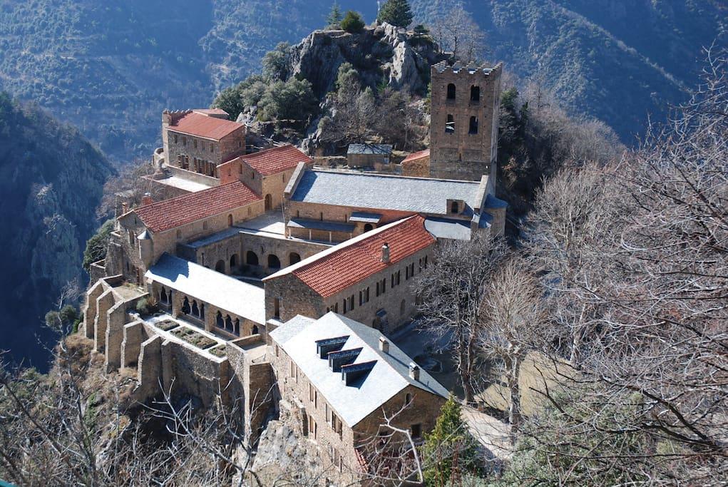 Abbaye de Saint Martin du Canigou