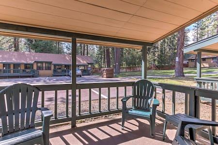 Quiet Tahoe Vista Studio - Walk to Beach & Lake!