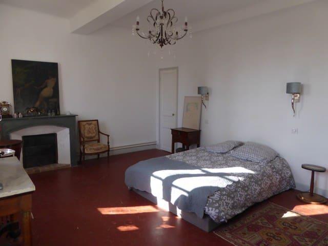 Chambre COLOMBE du Château Saint-Esprit - Draguignan - Bed & Breakfast