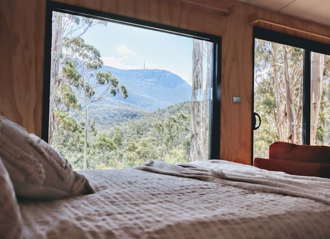 Cabin4Two with uninterrupted Mountain views