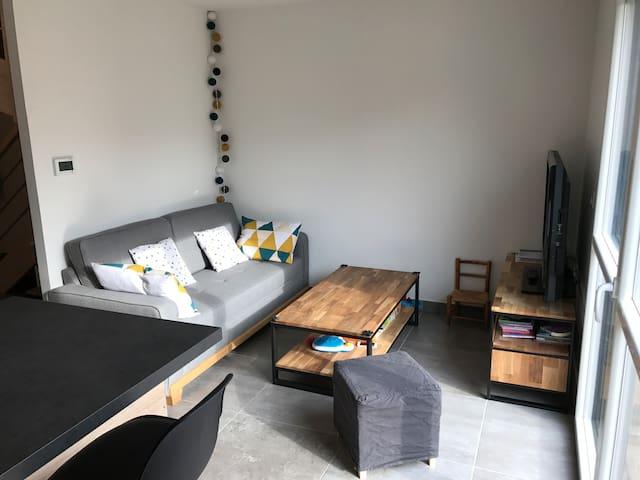 Appartement en duplex au calme - Craponne - Apto. en complejo residencial