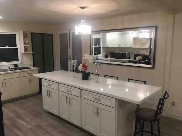 Newly renovated spacious 3 bedroom house