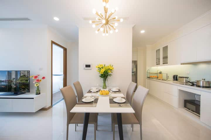 Relaxed Central Apartment in Vinhomes Central Park
