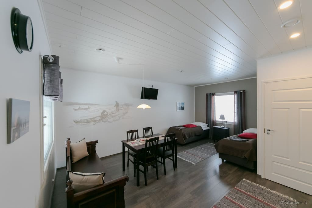 Torne River apartments  -room in house C