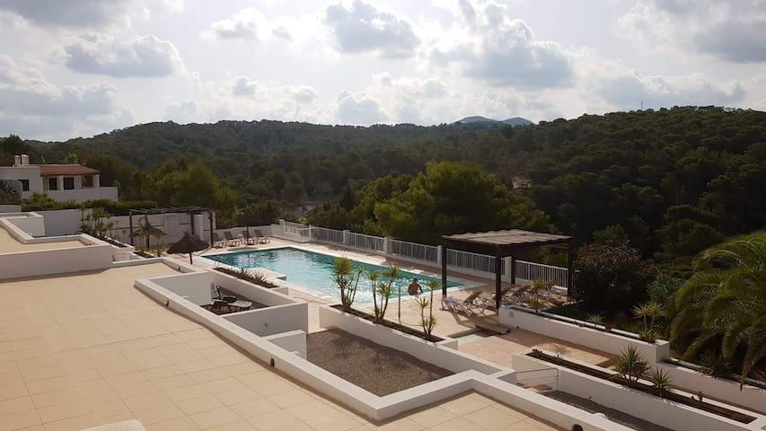 Cala codolar, Ibiza Casa  Piscina Covid-Free