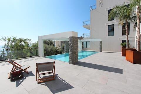 Luxury 2bs Monaco&SeaView, HeatedPool&Parking #24