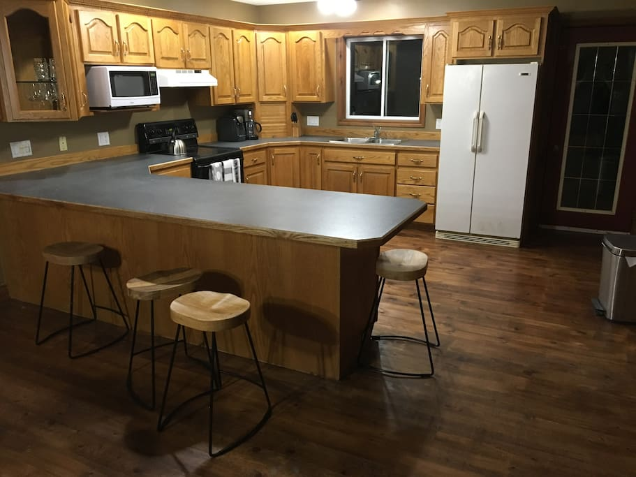Kitchen Island to help keep the chef company while cooking