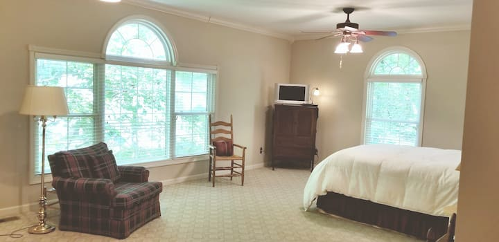 Beautiful Private Master Suite