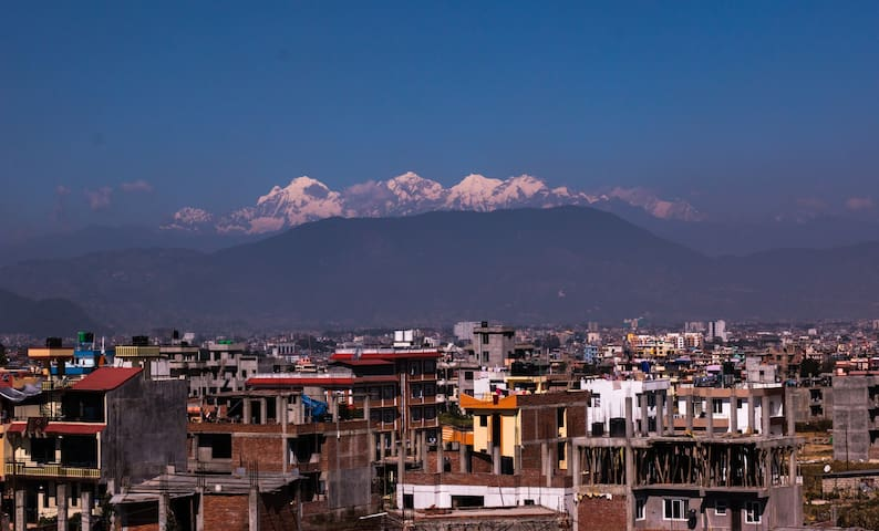 Darling of a small family- in Nepal - Patan - Dom