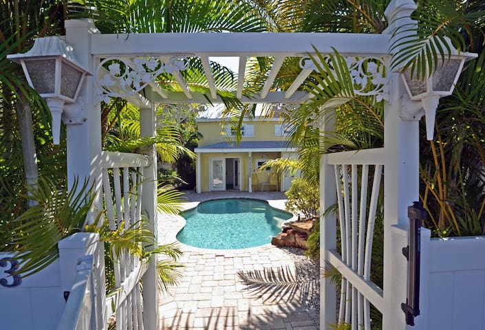 Escape to a Beach Oasis with Pool and Perfectly Located on Anna Maria Island