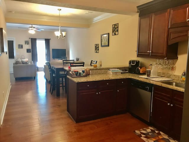 Masters tournament townhouse rental