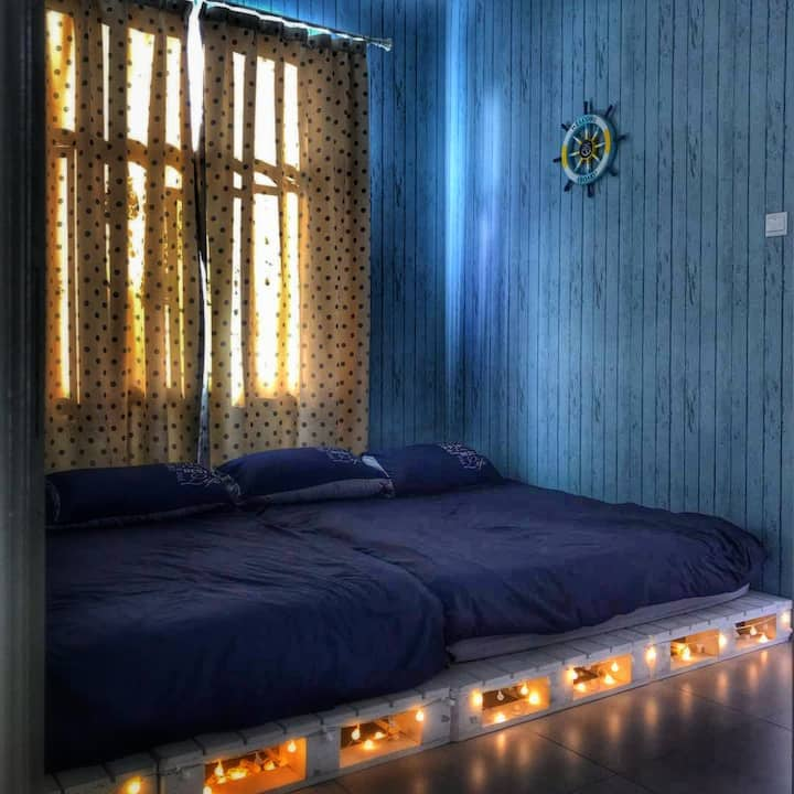 Blue Romance 1 Room apartment for 4 pax