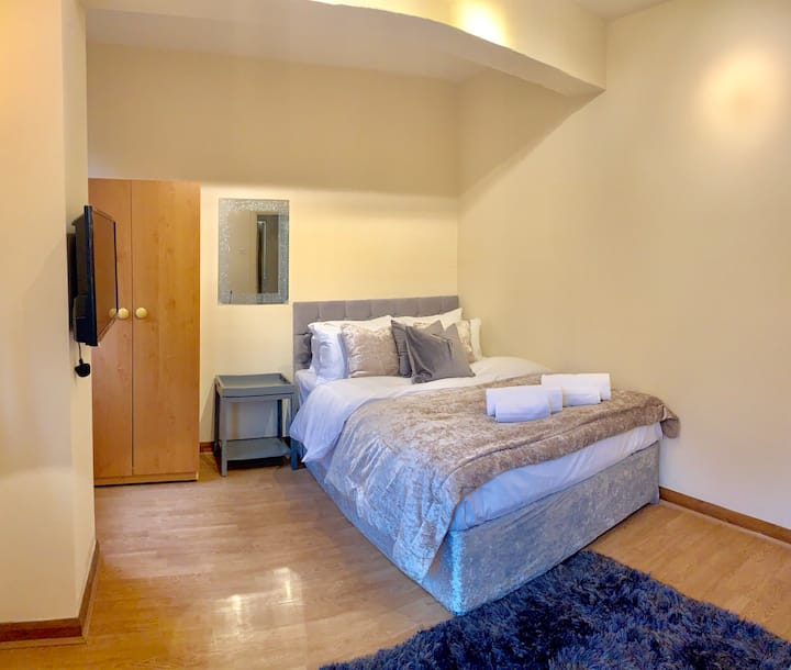 Central London Apartment accommodates 3 Guests