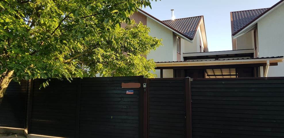 Gora. House near Boryspil Airport for 10 persons