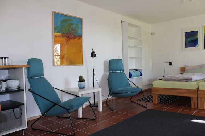 Gemütliche Wohnung mit Terrasse - Tettnang - Appartamento
