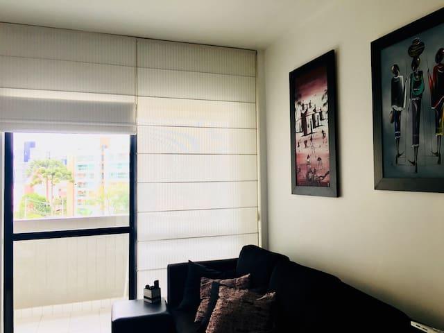 Apartamento Prático, Confortável e Bem Decorado!;)