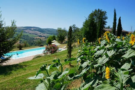 Il Noce, agriturismo family friendly - Rotecastello - Hus
