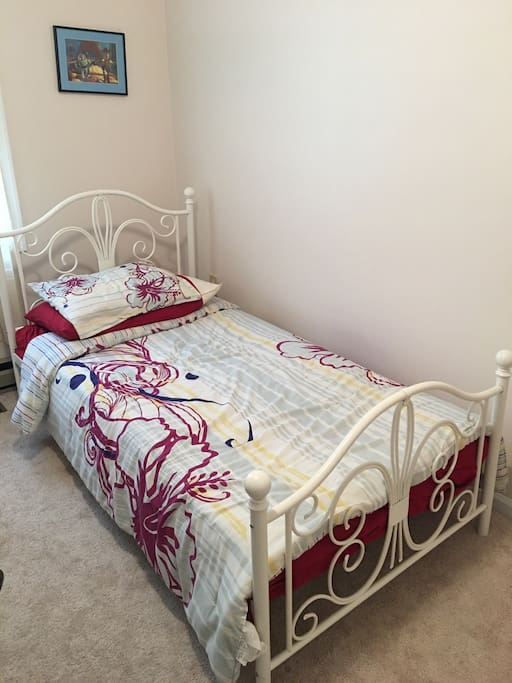 Bed in the room available