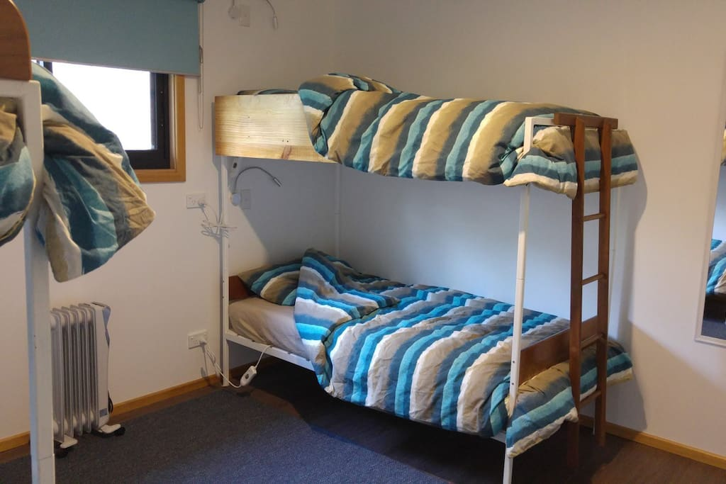 Mixed, shared, 4 bed dorm room.  Beds are sometimes available when showing as blocked - call or enquire.