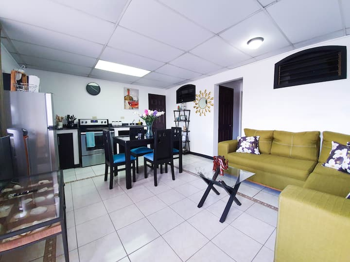 San José Contemporary Apt. fully equipped/ Netflix