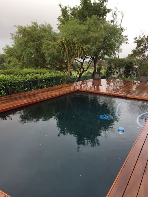 Decked Swimming Pool