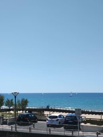 vue mer terrasse
