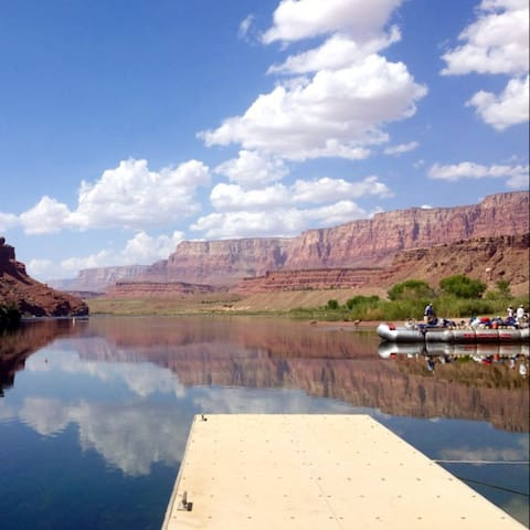 Lee's Ferry in Marble Canyon.