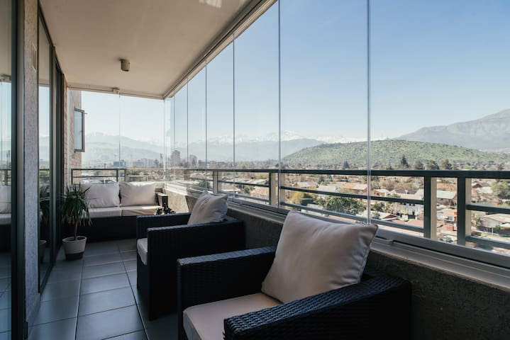 Great Apartment in Las Condes, stunning Andes view - Las Condes - Leilighet