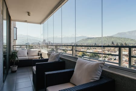 Great Apartment in Las Condes, stunning Andes view - Las Condes - Apartamento