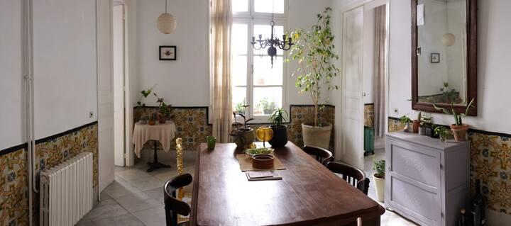 Appartement style colonial à la médina de Tunis