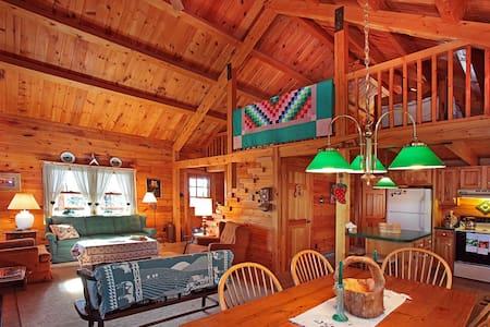 Pocono Log Home Getaway - Family Friendly