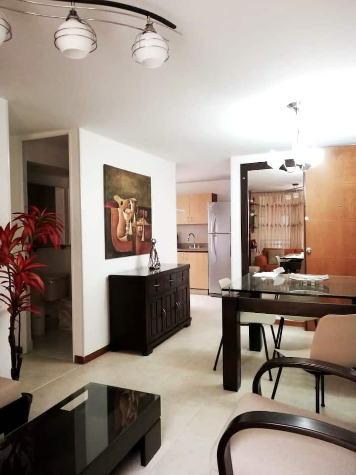Beautiful apartment in the city of Medellín