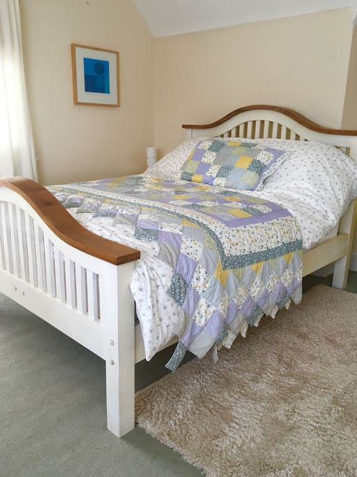 Large comfy king size bed