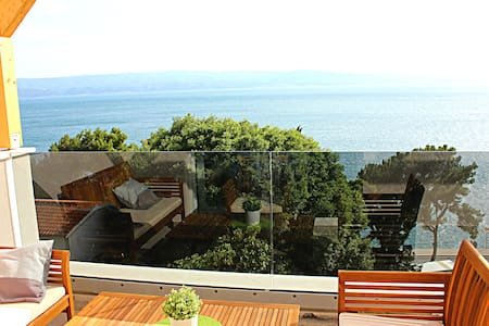 ❤★ Ap 3_E 60m2 apartment with sea view★❤ - Omiš - Apartment