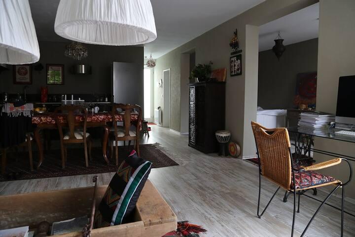 Sunny quiet apartment in lovely harbour area - 브레멘 - 아파트