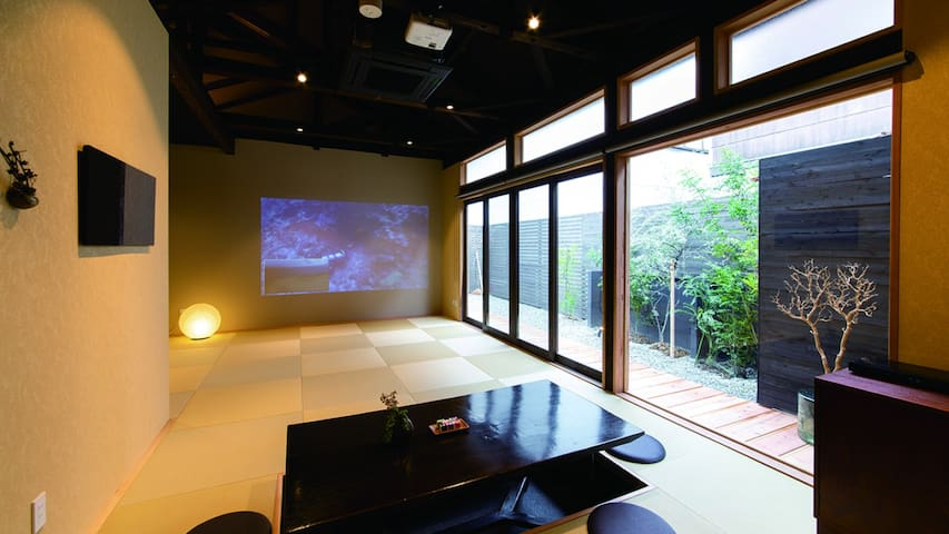 A Japanese house in a nostalgic port city with Perfect for a trip with family. Fuji view spot nearb