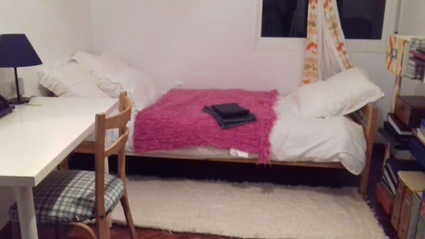 Habitación confortable en apartamento muy céntrico