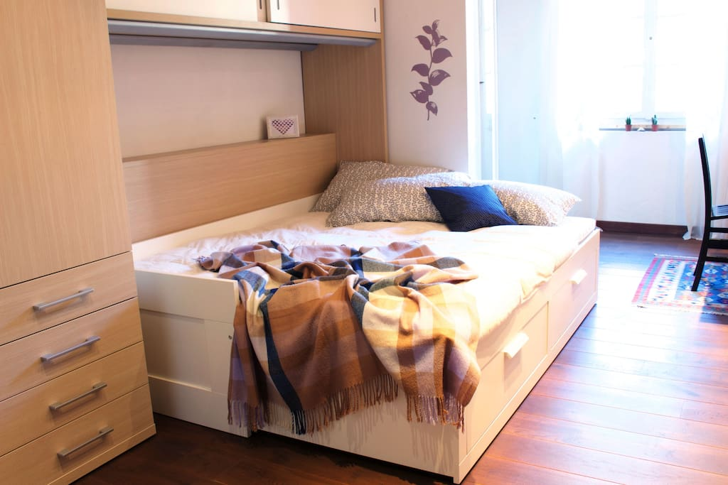 Sleeping King size bed