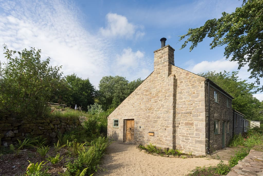 A beautifully restored cottage from the 1800's