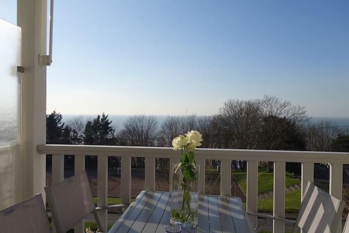 Vue Mer Studio Terrasse refait à Neuf - Trouville-sur-Mer - Appartement