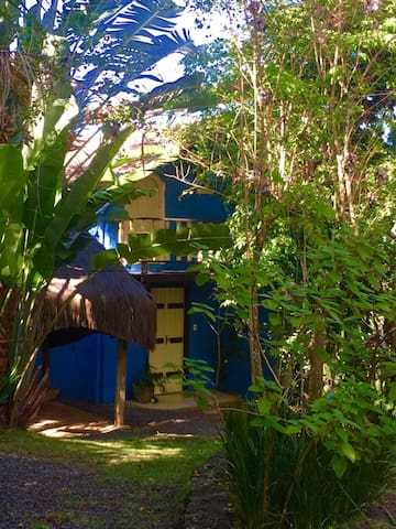 Casa na natureza no caminho das praias de Itacaré