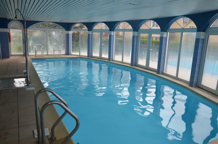 Studio à Dives-sur-Mer (port Guillaume)-2 piscines
