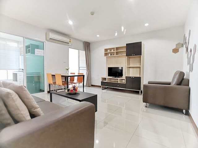 BANGKOK SOCIETY LUXURY/2BR/2WC/BTS/SHOPPING MALL/